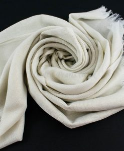 Occasion Shimmer Hijab White