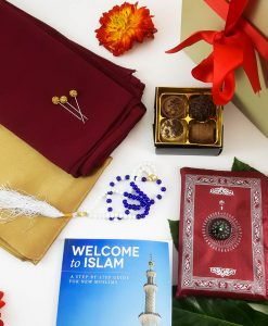 Welcome To Islam Gift Box - Muslim Reverts Gift Box - Islamic Gifts - Hidden Pearls