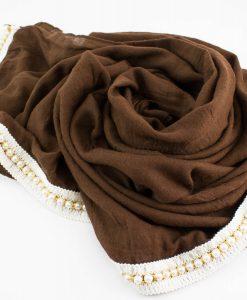 Pearl & Lace Hijab Chocolate