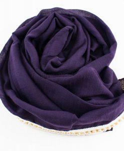Pearl & Lace Hijab Violet