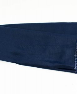 Crochet Lace Hijab Navy Blue 1