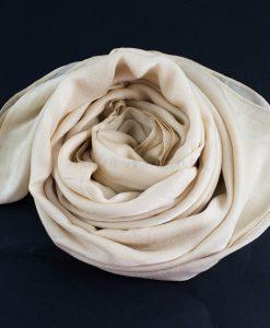 Deluxe Plain Hijab Cream 2