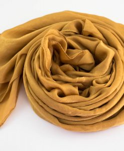 Deluxe Plain Hijab Golden Tan3