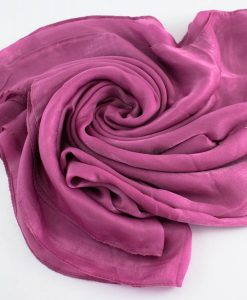 Deluxe Plain Hijab Spanish Pink 1