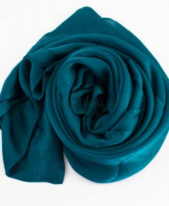 Deluxe Plain Hijab Teal