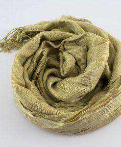 Shimmer Hijab Gold