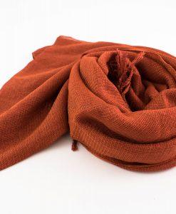 Shimmer Hijab Orange