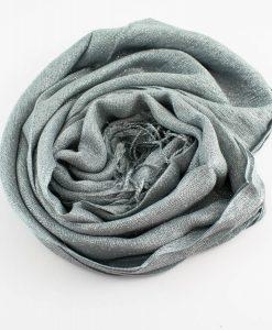 Shimmer Hijab Silver