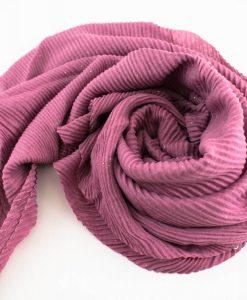 Glitter Crinkle Hijab Teal. Spanish Pink