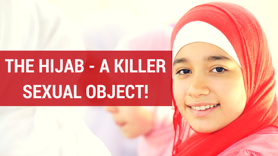 The Hijab - A killer sexual object banner